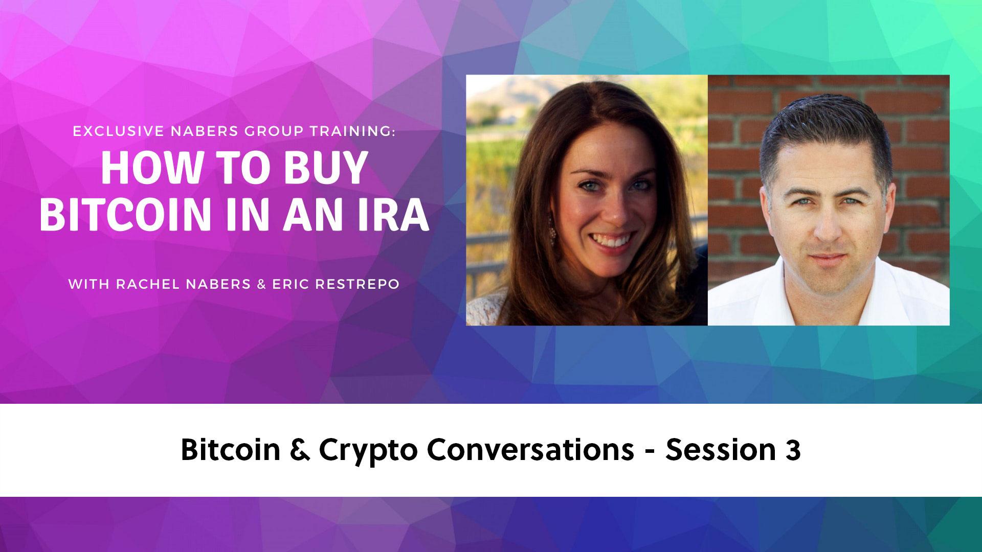 Bitcoin & Crypto Sessions - 3